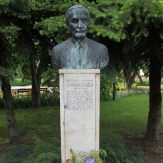 Gádoros - Dr. Hidasi László mellszobra