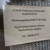 Gádoros - Justh Zsigmond mellszobra