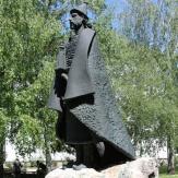 Mezőkovácsháza - Csanád vezér szobra